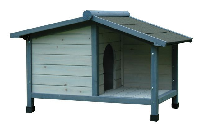 Cuccia da esterno per cane can louisiana 103x64x65 for Cancelletto per cani da esterno