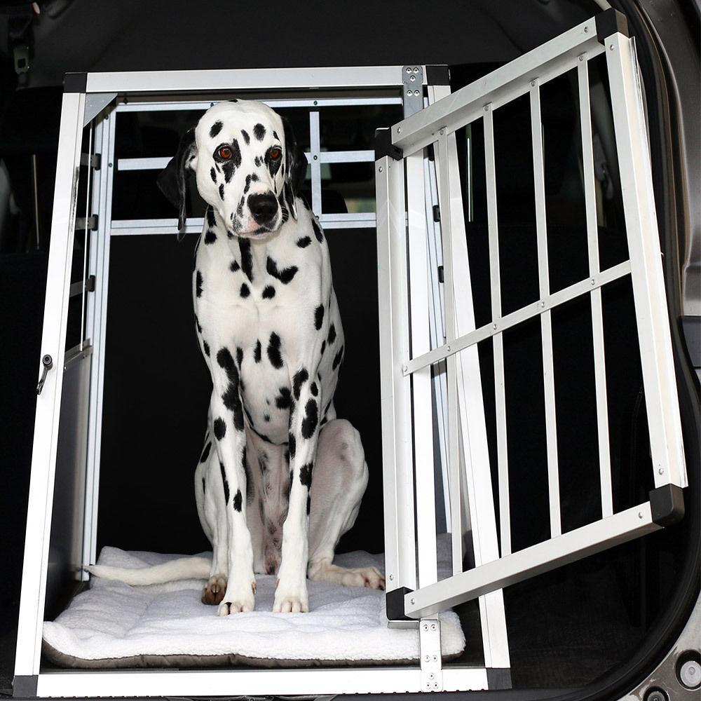 Trasportino Gabbia In Alluminio Per Cani Da Auto Small L 69 Cm