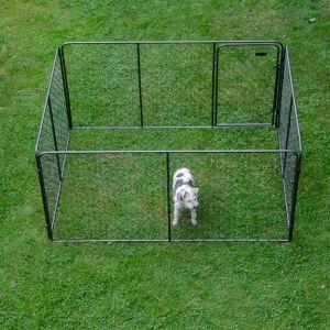 Recinto per cuccioli l 205 cmx b 155 cm x h 102 cm for Recinto per cani taglia grande