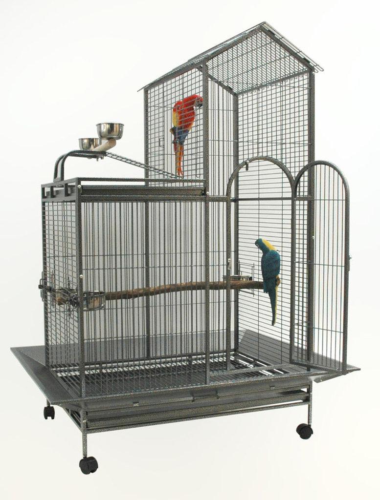 Gabbia per pappagalli animalmarketonline for Voliera fai da te