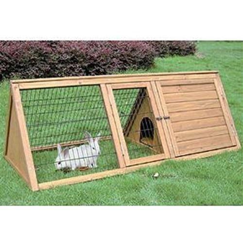 Conigliera in abete animalmarketonline for Conigliera in legno
