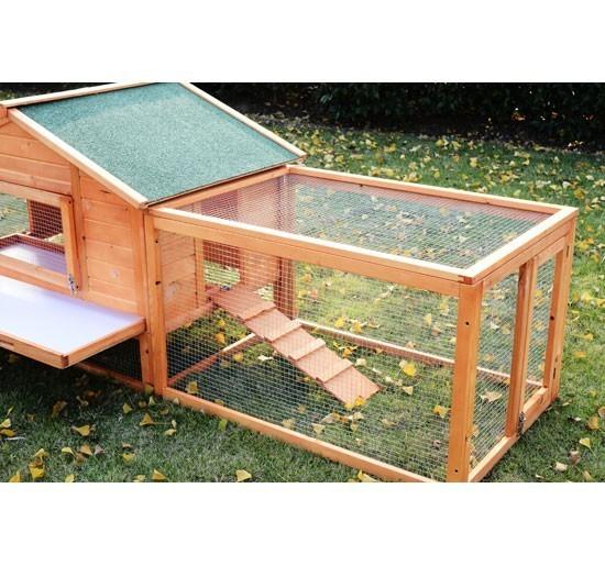 Conigliera in legno oscar xxxl 310cm animalmarketonline for Conigliera in legno
