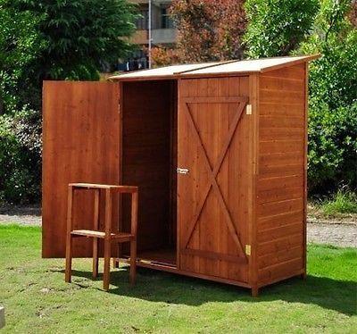 Cassetta da giardino mobile in legno porta utenseli - Mobile giardino ...