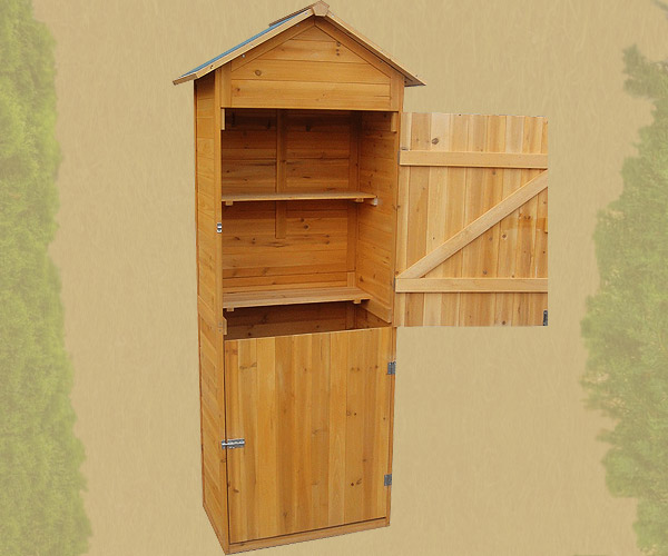 Cassetta da giardino mobile in legno animalmarketonline - Mobile giardino ...
