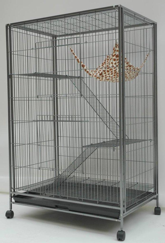Voliera per roditori 92 x 61 x 141 5 cm animalmarketonline for Voliera fai da te