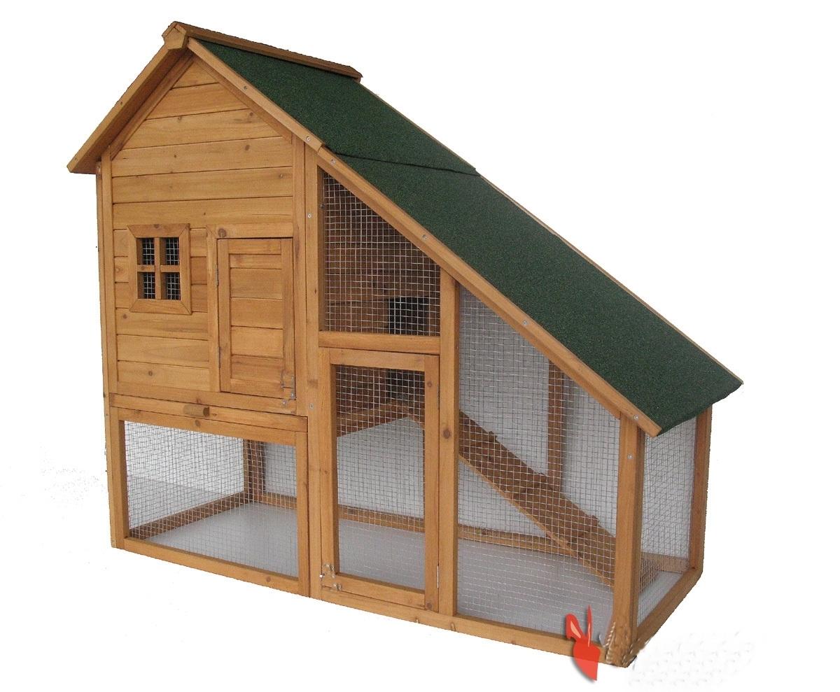 pollaio conigliera in legno animalmarketonline