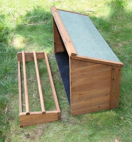 Pollaio conigliera in legno fortuna animalmarketonline for Conigliera in legno