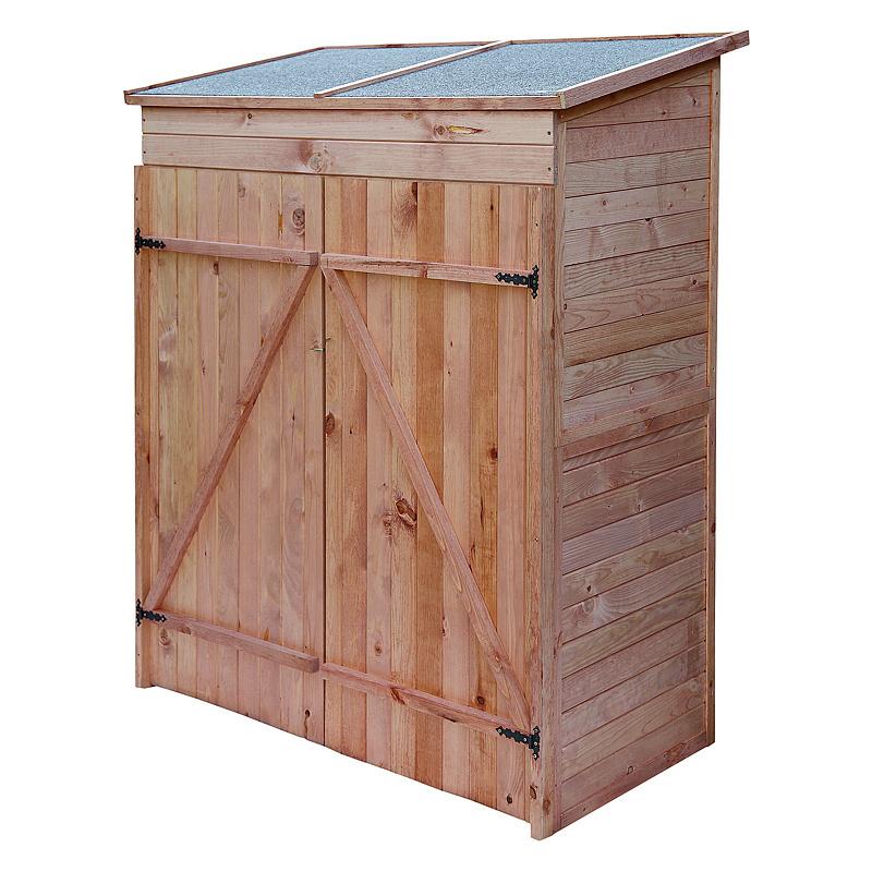 Casetta per esterno in legno ripostiglio da giardino riparo - Ripostiglio in legno da giardino ...