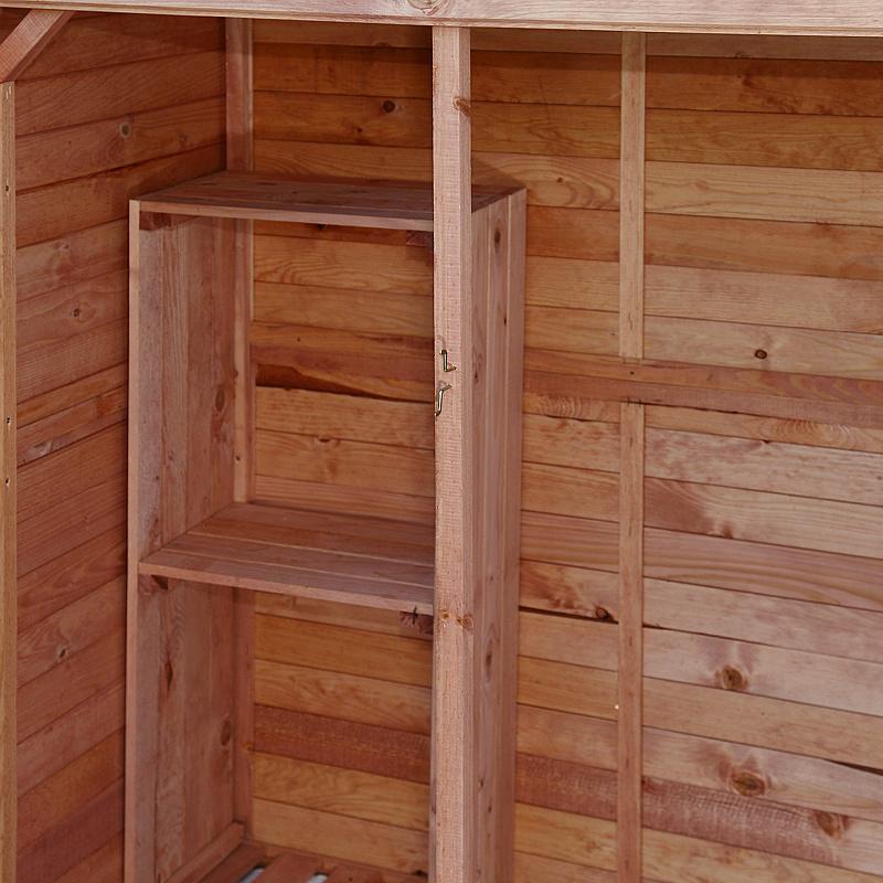 Casetta per esterno in legno ripostiglio da giardino riparo - Armadio ripostiglio da esterno in legno ...