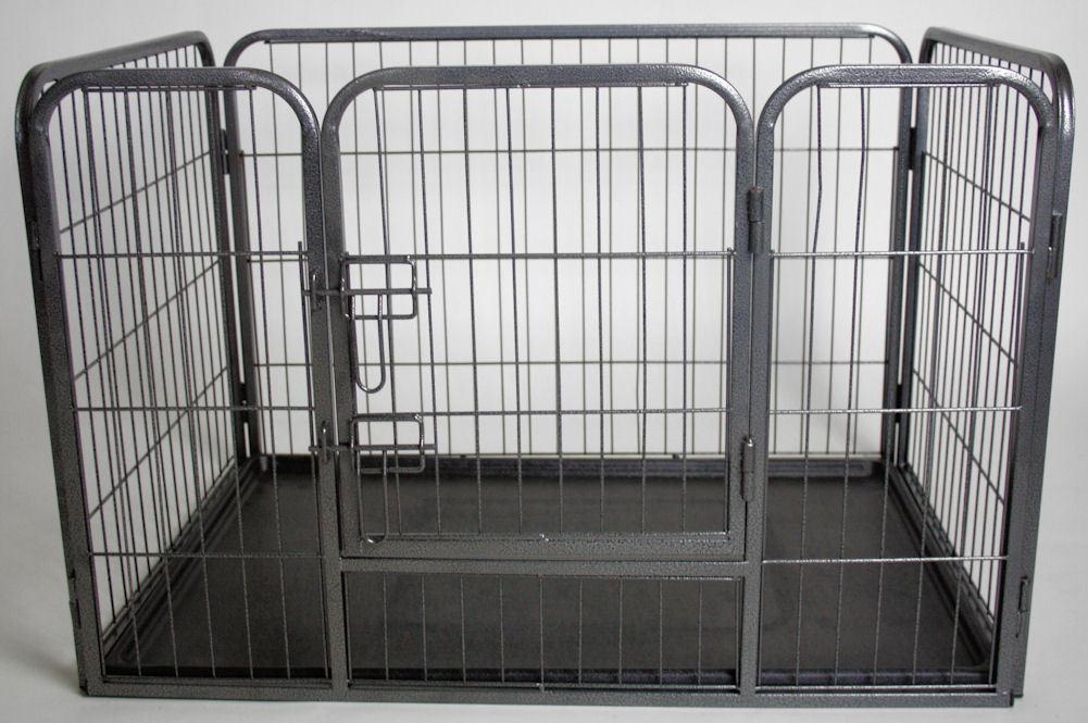 Recinto per cani cuccioli con vaschetta l 93 cm for Vaschetta tartarughe prezzo