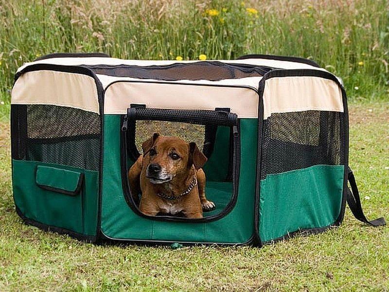 Recinto per cani cuccioli h 40 x d 110 cm animalmarketonline - Recinto mobile per cani ...