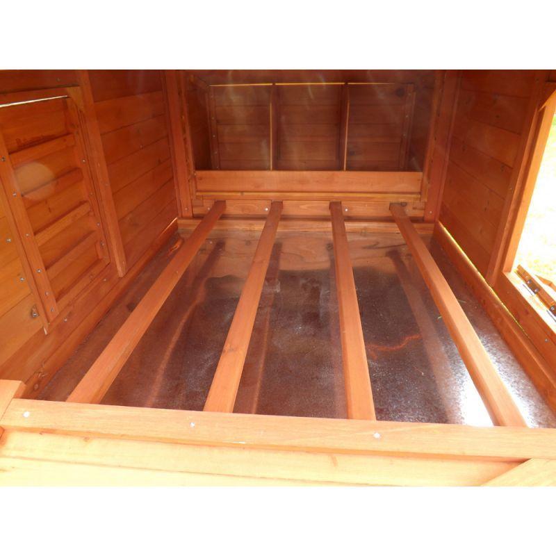 Conigliera pollaio recinto gabbia in legno per polli for Recinto in legno