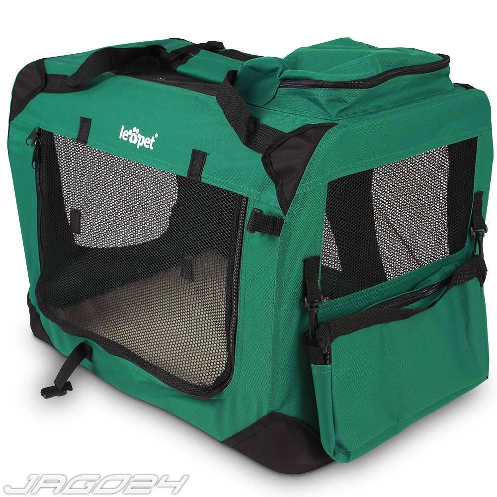 Trasportino pieghevole gabbia box per auto per cani gatto ...