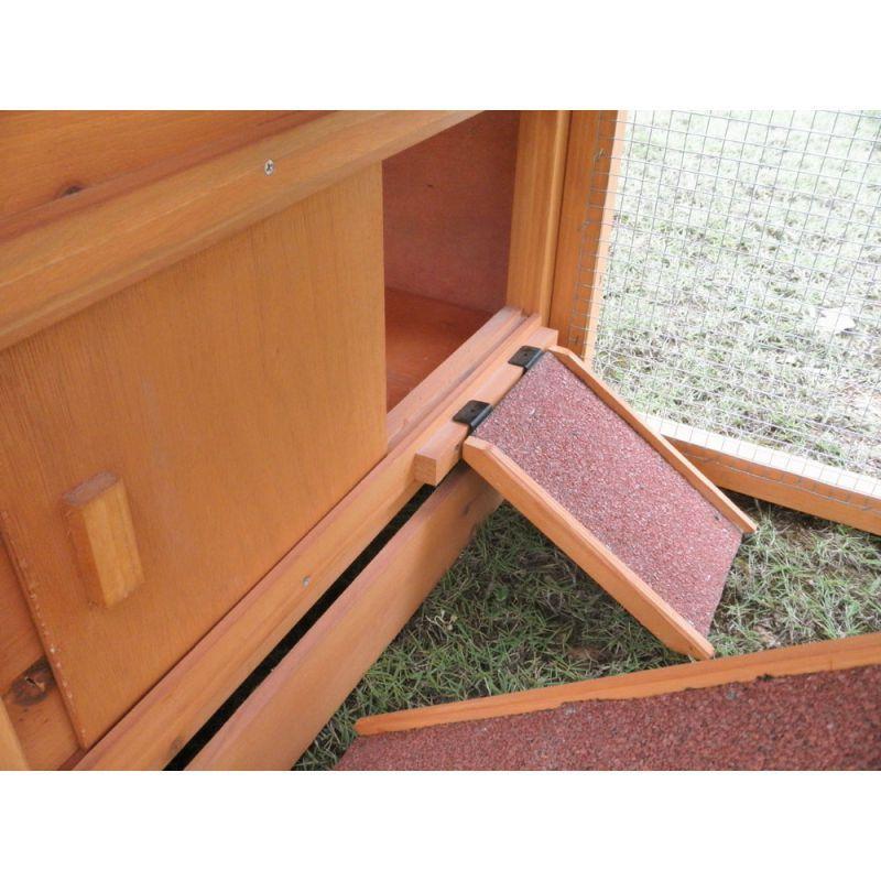 Conigliera pollaio recinto gabbia in legno for Recinto in legno