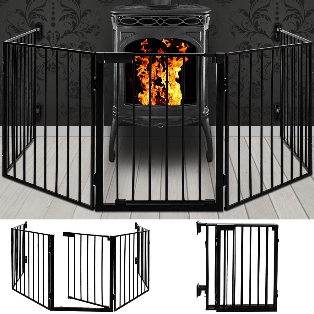 recinto box protezione camino fuoco. Black Bedroom Furniture Sets. Home Design Ideas