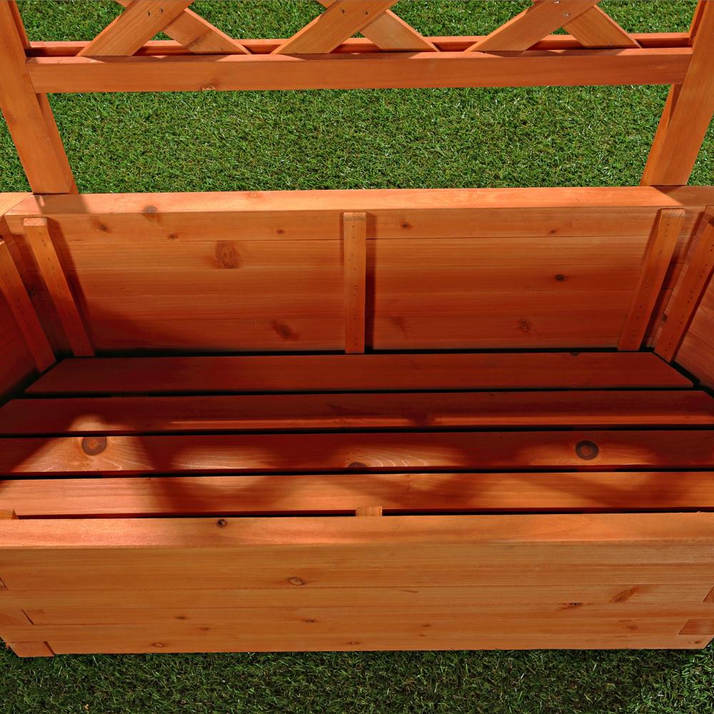 Fioriera con traliccio animalmarketonline for Giardino rustico traliccio decorativo