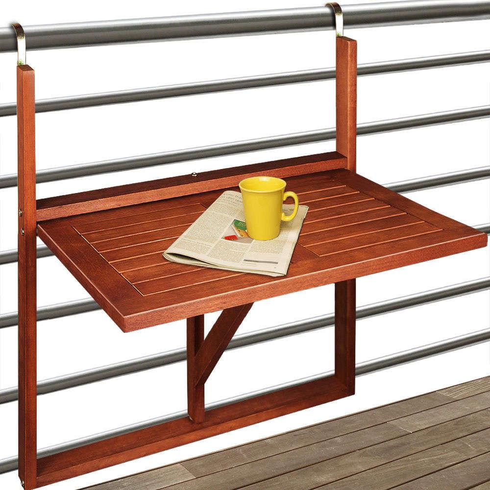 Tavolino Da Balcone in Legno - animalmarketonline
