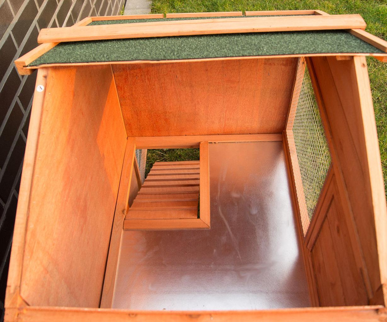 Conigliera gabbia in legno baleari animalmarketonline for Conigliera in legno