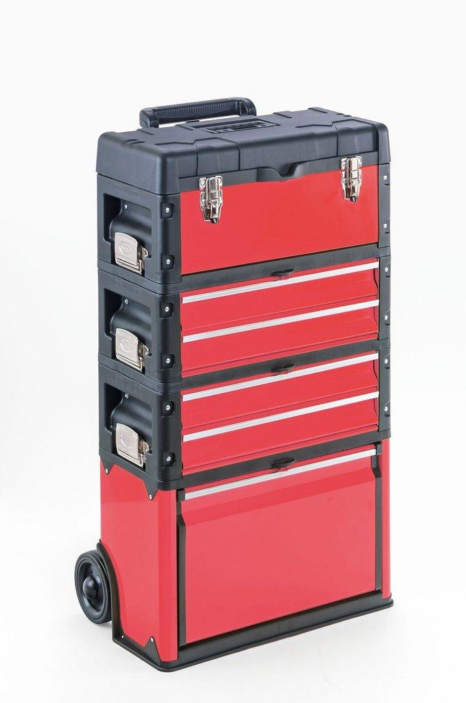 Trolley porta attrezzi professionale rosso giulia - Trolley porta attrezzi ...